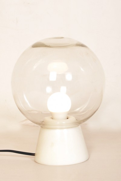 Tischlampe Porrima Weiß