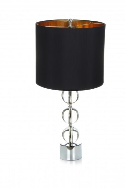 Tisch- / Stehlampe Polaro 110 Schwarz / Gold / Silber