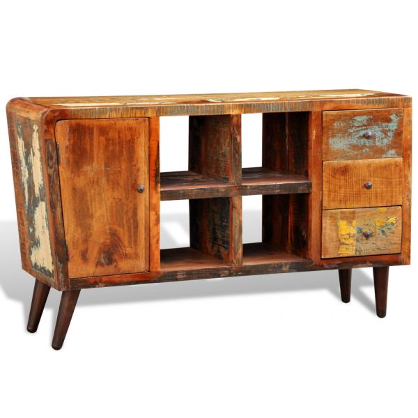 Shabby Chic Sideboard Vintage Kommode Recyceltes Massivholz