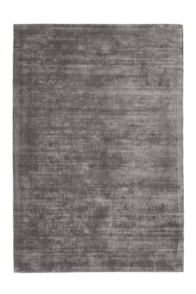 Viskose Teppich Luxus grau