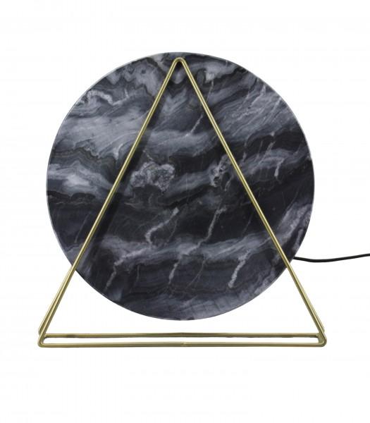 Tischlampe Carmie 287 Marmor / Schwarz