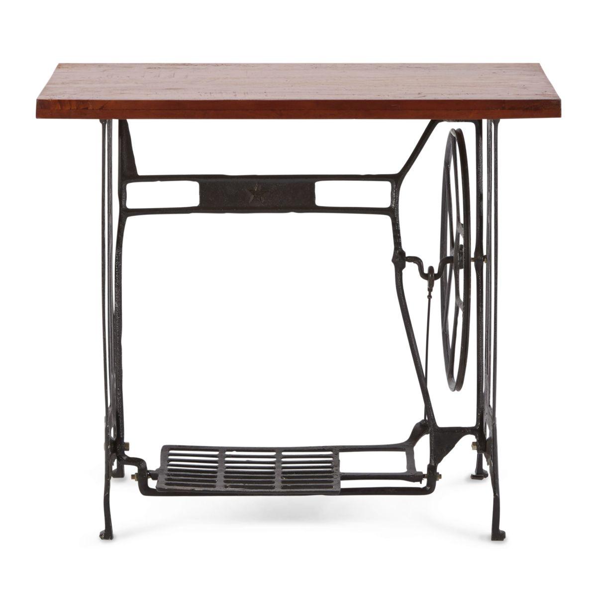 Industrial Tisch industrial tisch nähmaschinen beistelltisch elisabeth massivholz