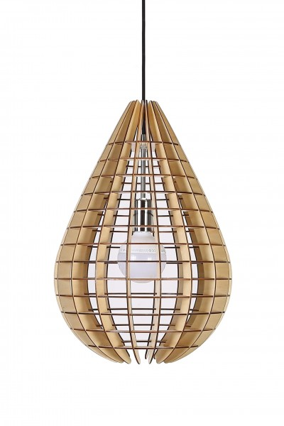 Hängelampe Illumination Holz