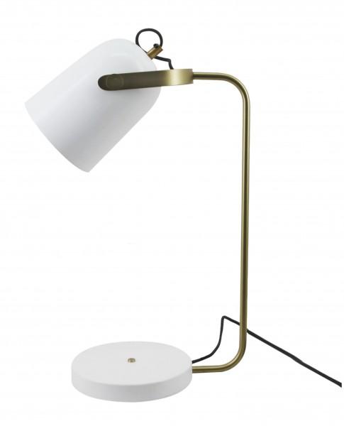 Tischlampe Caroline 287 Weiß