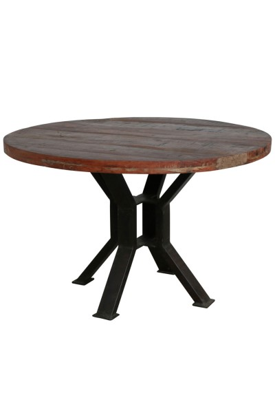 Runder Tisch Vintage-Stil