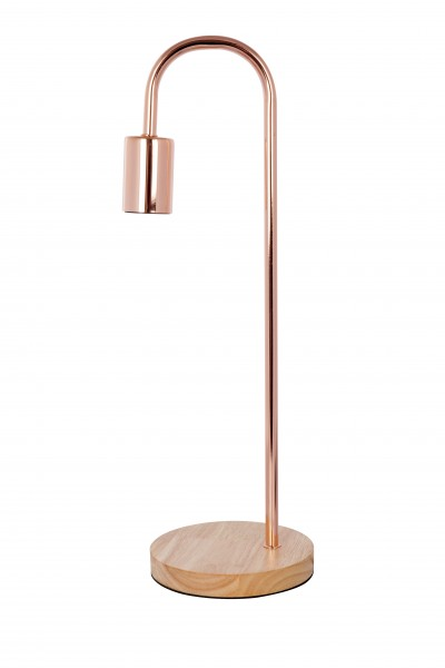 Tischlampe Vinara 600 Rosé / Kupfer