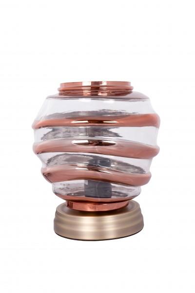 Tischlampe Aladin III 720 Champagner / Kupfer