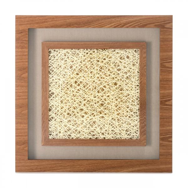 Bilder Holzkunst Carré III 60cm x 60cm